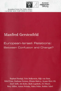 European Israel Relations Cover