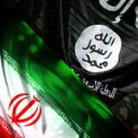 ISIS IRAN flags