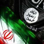 ISIS IRAN flags