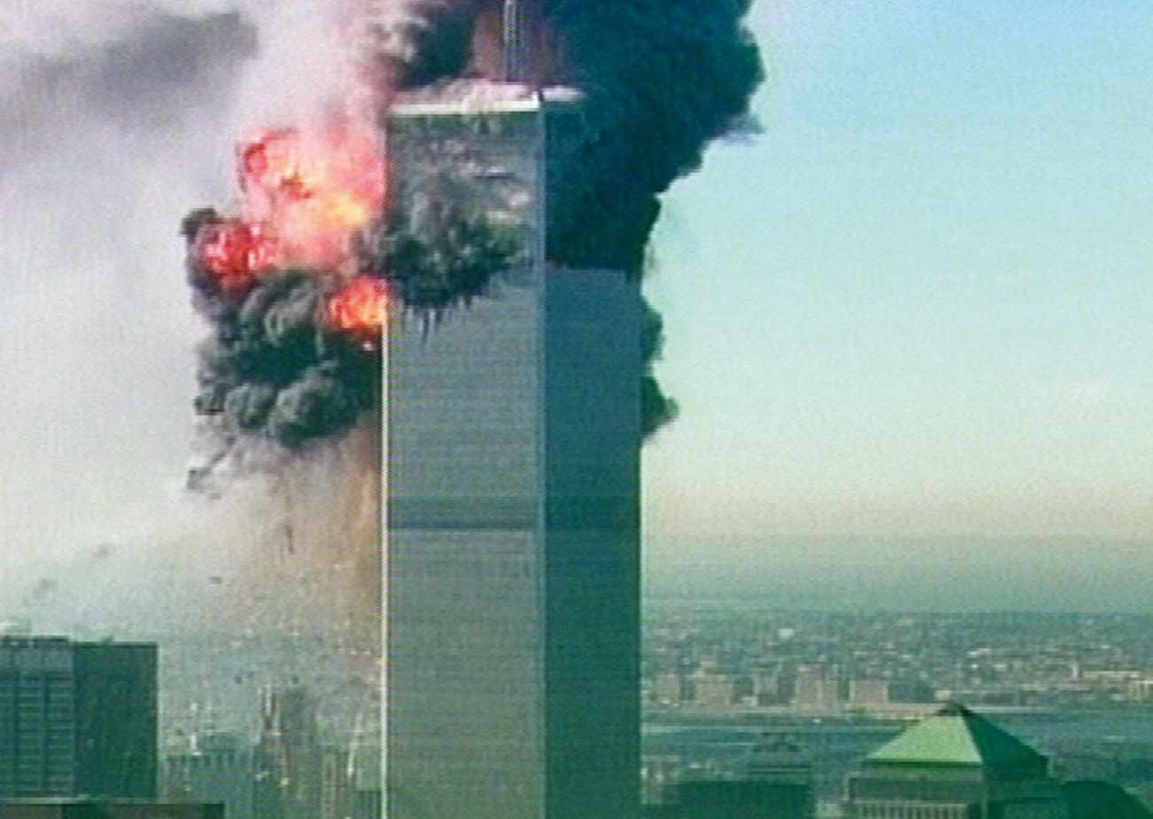 The World Trade Center in New York on Sept. 11, 2001.