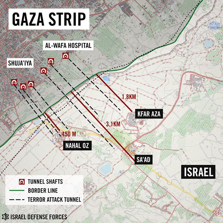 Hamas' Tunnel Network: A Massacre in the Making