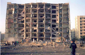 The 1996 Khobar Towers bombing in Saudi Arabia.  The 9/11 Commission concluded that Hizbullah, with the support of the Iranian regime, was the perpetrator.